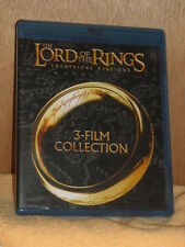 The Lord of the Rings: 3-Film Collection (Blu-ray Disc, 2014, Theatrical Vers...