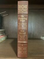 THE CHANGELING PLAGUE - SYNE MITCHELL- SIGNED FIRST EDITION- EASTON PRESS - COA