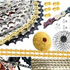 Variable Bike Chain 6 7 8 10 11 Speed Folding Road Cycling Components Parts Gold