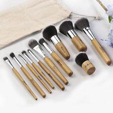 11tlg Make Up Pinsel Set Schminkpinsel Eyeliner Lidschatten Lip Kosmetik Kit DO