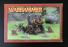 GW AoS Warhammer Azgorh Chaos Dwarf Hellcannon Storm Of Chaos Boxed NEW
