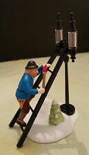 "DEPARTMENT 56 HERITAGE VILLAGE ""Lamplighter Accessory Set,"" New, #56.55778"