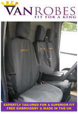 Ford Transit Van (2014 on). Tailored Seat Covers. With Free Embroidery.