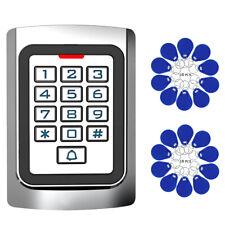 Access Control Keypad LED Display for Door Entry System+20x RFID Keyfobs