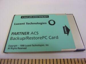 Avaya Lucent AT&T Partner Backup & Restore PC Card Green