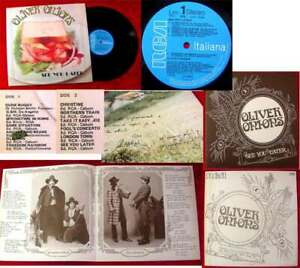LP Oliver Onions: See you Later Guido & Maurizio de Angelis Signiert 1974 RCA