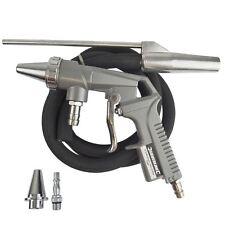 Arenado arenilla suelta aire Sander Kit pistola de chorro de arena