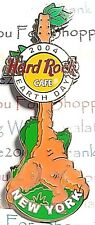 HRC Hard Rock Cafe New York Earth Day Guitar 2004 Pin LE NEW # 22558