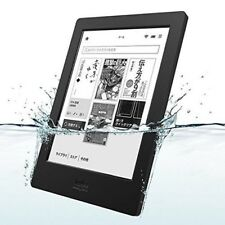NEW KOBO N250-KJ-BK-S-EP Kobo Aura H2O eBook Reader Waterproof Black from JAPAN