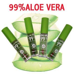 3pcs/lot Aloe Vera Soothing Gel Magic Lip Gloss Moisturizing Color Changing Bulk