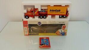 Joal Kenworth Truck & Low Loader Trailer J&T Miller InterExit Container 1:50 MIB