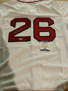 Wade Boggs Signed Autograph Custom Boston Red Sox Jersey W/ HOF BAS Cert Auto