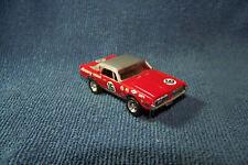 Mercury Cougar Trans Am #16 HO Slot Car w/Ultra G Chassis & RRR wheel/tires