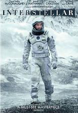 Interstellar (New Sealed DVD, 2015) Matthew McConaughey, Anne Hathaway