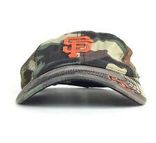 San Francisco Giants Madison Bumgarner Camo Meshback Baseball Cap Hat Adj Adult