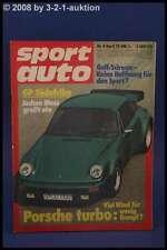 Sport Auto 4/75 Porsche 914 Simca Bagheera VW + Poster