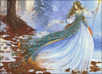 Needlework Crafts Full Embroidery DIY Counted Cross Stitch Kits Enchantment
