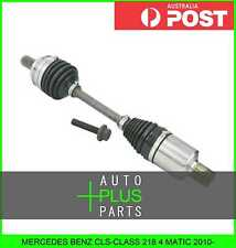 Fits CLS-CLASS 218 4 MATIC - DRIVE SHAFT FRONT Left Hand LH 34X546X30