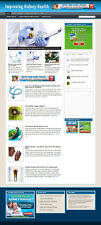Kidney Health Advice Blog And Website With Affiliates Banners Amp Domain