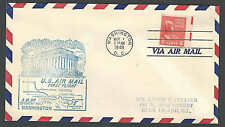 1949 COVER PREXY 6c SOLE USAGE W/ELECTRIC EYE SELVAGE ON AIRMAIL COVER
