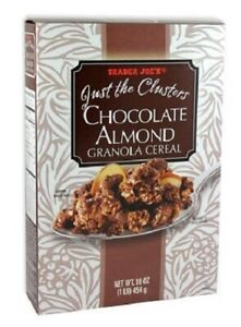 Trader Joe's Just the Clusters Chocolate Almond Granola Cereal