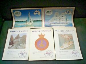 D 20 X AUSTRALIAN NAVY ( NAVAL ) MAGAZINES SEE PHOTOS WHITE ENSIGN APX 900 PAGE