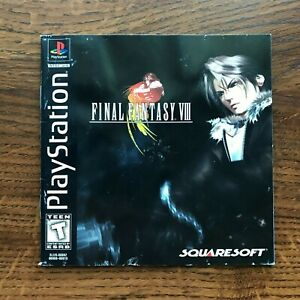Final Fantasy VIII FF8 FFVIII 8 FF PS1 Playstation 1 PS One Manual Only