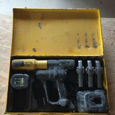 Roller Rems Akku-Press  Akku Pressmaschine Presszange 3x M Pressbacken Rems