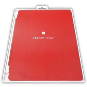 Apple IPAD Smart Magnetic Cover Leather Red Stand Case MD304LL/A Brand New NIB