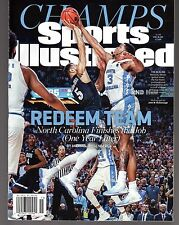 Sports Illustrated 2017 North Carolina TarHeels NCAA Champs Newsstand Issue NR/M