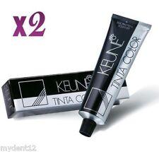 2 x Keune Tinta Color Permanent Hair Color (SELECT YOUR SHADES) 60ml each Tube