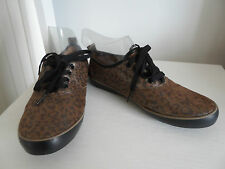 BABY PHAT Leopard Print Metallic Canvas Trainers in Size 4 *IN VGC*