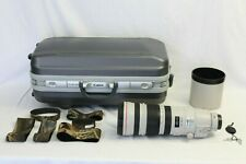 Canon EF 200-400mm f/4 L IS USM Extender 1.4x Lens EOS DIGITAL CAMERA EX+ BONUS