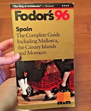 Spain '96 : by Fodor's Travel Publications (1995 Paperback) store#6374