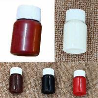 1 Bottle 30ml Coffee/Black/Brown/Red Leather Edge Oil Paint DIY Handmade Goods
