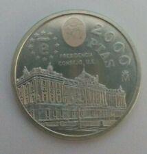 MONEDA de plata  2000 ptas Juan Carlos I  1995 . No circulada
