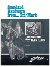 Tri/Mark 600 Series T Handles Spec Sheet  On/Off Highway Equipment