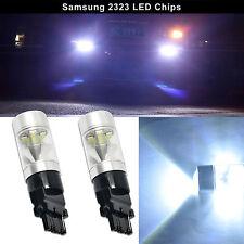 2x LED 3156 3056 3356 High Power Samsung 2323 60W Backup Lights Bulb Lamp White