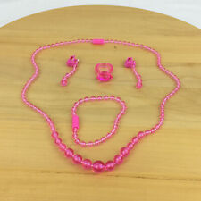Pretty Pretty Princess Sleeping Beauty Game Jewelry Replacement Part Pieces Pink