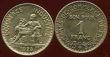 FRANCE  FRANCIA  1 franc 1923   CHAMBRE DE COMMERCE   SPL