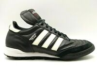 Adidas Mundial Team Black Leather Lace Up Athletic Soccer Cleats Shoes Men's 7.5