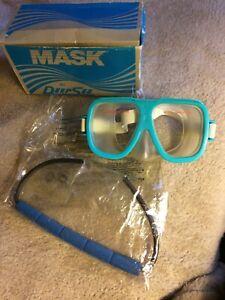 Deep See Aqua Mask #7811 Dive, Scuba, Snorkel, Swim Adult