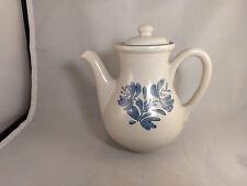 """Pfaltzgraff Yorktowne 8"""" Coffee Pot & Lid - 490Y - USA"""