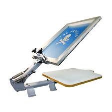 High Quality 1 Color 1 Station T-Shirt Silk Screen Printing Machine