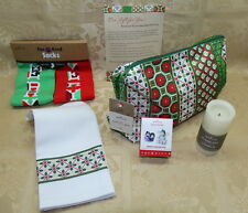 Hallmark 2016 VIP Gift Set Frosty Fun for You Socks Tea Towel Candle no Soap