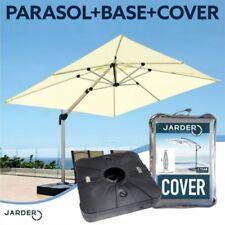 Aluminium Cantilever Umbrella 3m Diameter Patio Parasols