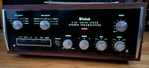 Mcintosh C26 Vintage Stereo Preamplifier With Original Manual