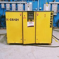 Used Kaeser CS 121 Rotary Screw Air Compressor 100 HP 480 Volt