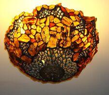 BERNSTEINLAMPE DECKENLAMPE TIFFANY BERNSTEIN LAMPE - 40 cm