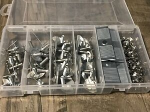 Chevy Buick Pontiac moulding trim clips & nuts assortment - ss keps nut